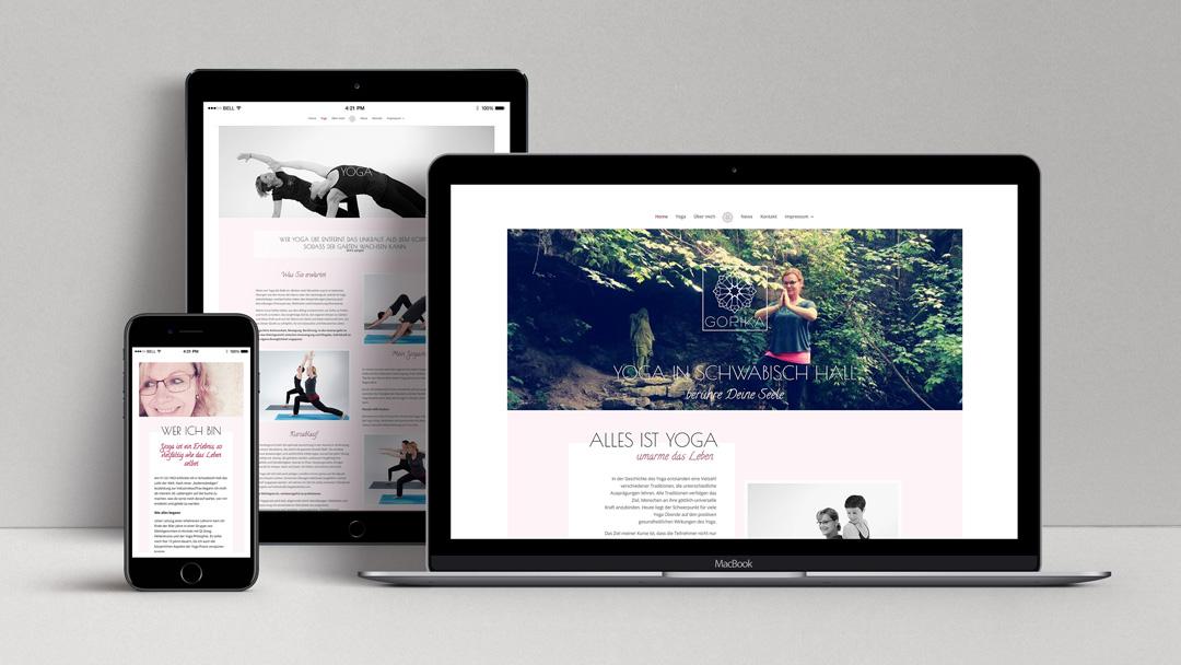 webagentur-mw-referenz-gopika - das bild zeigt ansichten von laptop, handy und tablet mit der website von gopika