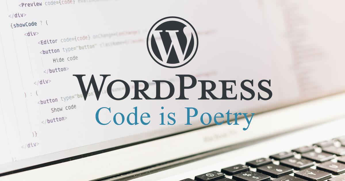 webagentur-mw-schwäbisch-hall - das bild zeigt das logo von wordpress vor einem geöffneten laptop.