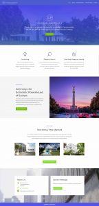 webagentur-mw - das bild zeigt einen screenshot der homepage german-property