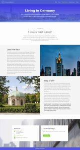 webagentur-mw - das bild zeigt einen screenshot einer unterseite von german-property
