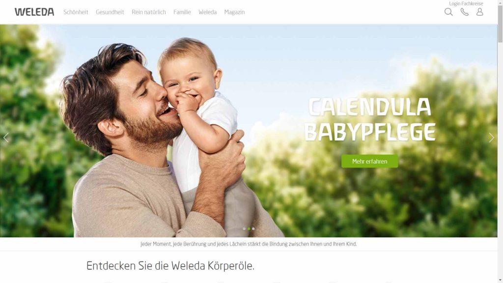 webagentur-mw - das bild zeigt die homepage der firma circle twenty one als beispiel für die farbe grün im webdesign