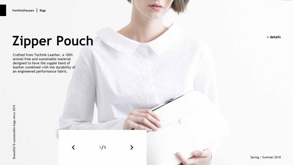webagentur-mw - das bild zeigt die homepage der firma von holzhausen als beispiel für die farbe weiß im webdesign